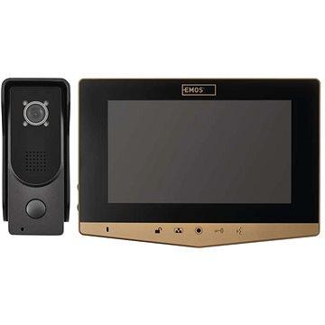 EMOS Sada domácího videotelefonu H2031 zlatý - Videotelefon