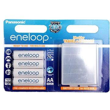 Panasonic eneloop AA 1900mAh 4ks + case - Nabíjecí baterie