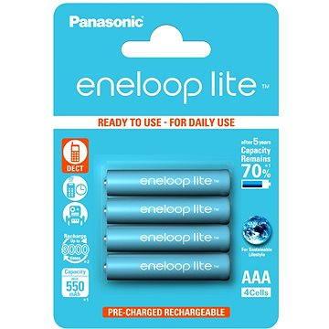 Panasonic eneloop lite AAA 550mAh 4ks - Nabíjecí baterie