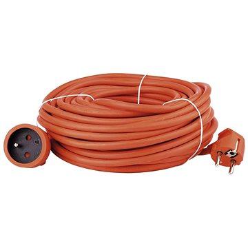 Emos Prodlužovací kabel 20m, oranžový - Prodlužovací kabel