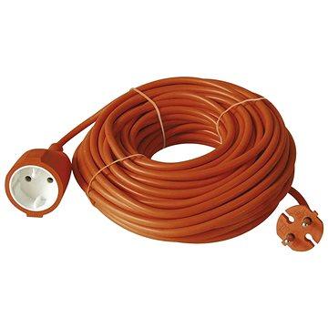 Emos Prodlužovací dvoužílový kabel  20m, oranžový - Prodlužovací kabel