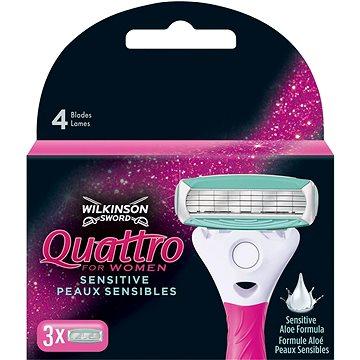 WILKINSON Quattro for Women 3 ks - Dámské náhradní hlavice