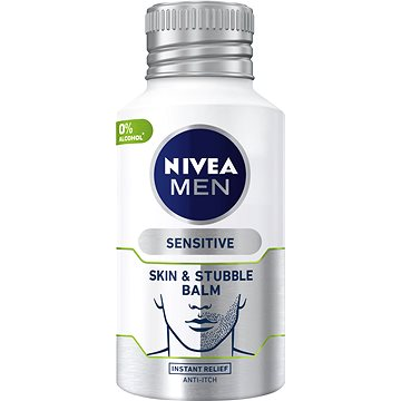 NIVEA Men Skin&Stubble Balm Sensitive 125 ml - Balzám po holení