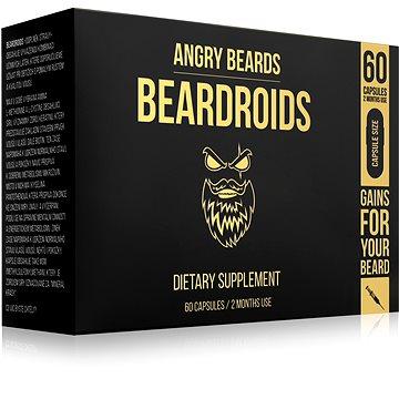 ANGRY BEARDS Beardroids 60 ks - Přípravek na růst vousů