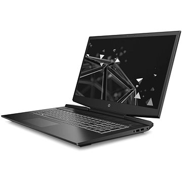 HP Pavilion Gaming 17-cd1022nc Shadow Black White - Herní notebook