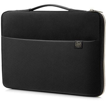 "HP Carry Sleeve Black/Gold 15.6"" - Pouzdro na notebook"