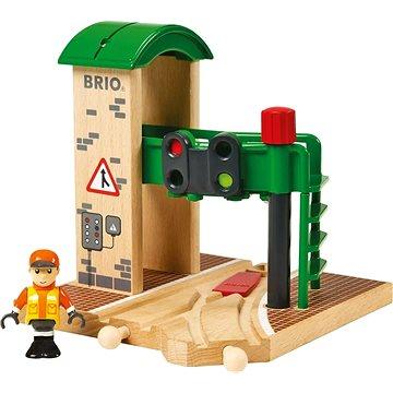 Brio World 33674 Signální stanice - Příslušenství k vláčkodráze