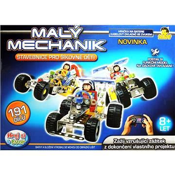 Malý mechanik - Auto na ovládání - Stavebnice