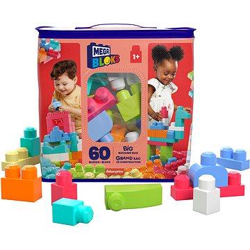Mega Bloks Pytel kostek pro holky (60 ks) - Stavebnice