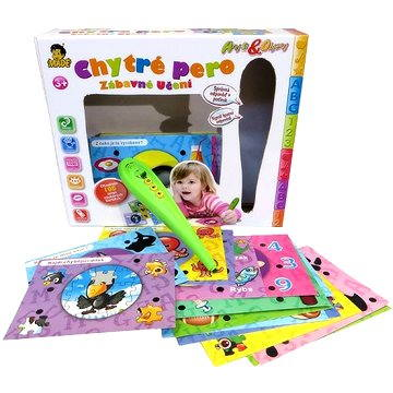 Chytré pero s kartami  - Interaktivní hračka