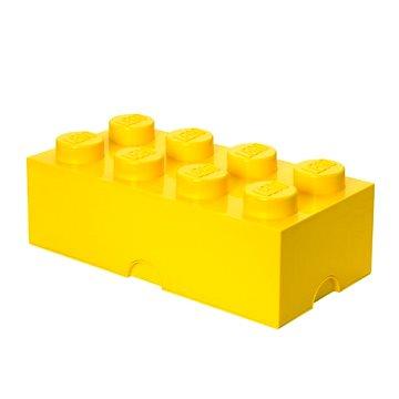 LEGO Úložný box 250 x 500 x 180 mm - žlutý - Úložný box