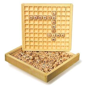 Dřevěné hry - Scrabble - Společenská hra
