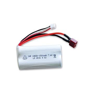 Baterie Li-Ion 7,4V/1500 mAh T-Dean pro auta 1:12 22402,22406, MT2046, MT2036, S12429, a další model - Náhradní akumulátor