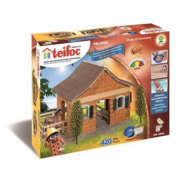 Teifoc Velká Stáj 420ks v krabici 43x33x11cm - Stavebnice