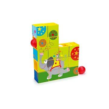 Scratch Puzzle a kuličková dráha Cirkus - Dětská hra