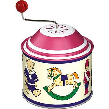 Hrající skříňky-viktoriánské moti 8cm CZ - Hudební hračka