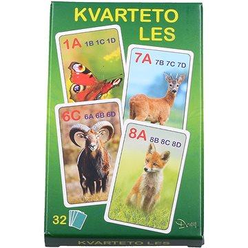 Kvarteto les - Karetní hra