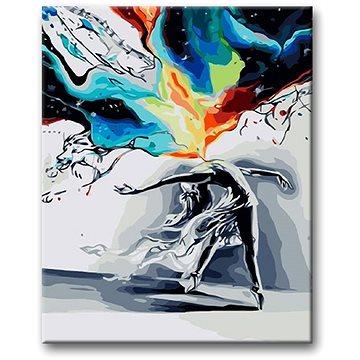 Malování podle čísel - Tanec v bouři 40x50 cm vypnuté plátno na rám - Malování podle čísel