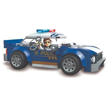 Mega Bloks Policejní vozidlo - Stavebnice
