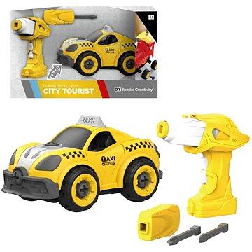 Šroubovací taxi na dálkové ovládání - Herní set