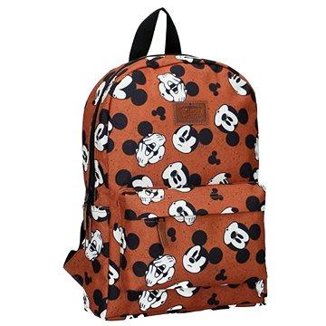 Batoh Mickey Mouse My Own Way Hnědý - Školní batoh