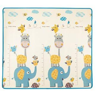 Pěnová podložka Play Maxi 200*180 cm - vesnička/zvířata - Hrací deka