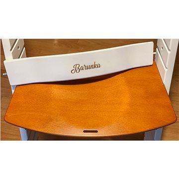 Rostoucí židle Wood Partner Luca Kombi Písmo: Barunka - Dětská židle