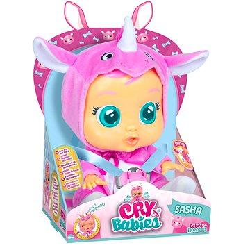 Cry Babies Interaktivní panenka Sasha - Panenka