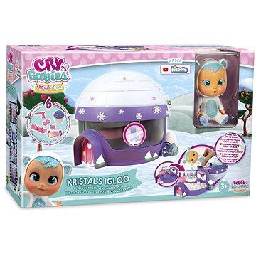 Cry Babies Magic Tears - sada Iglo Kristal - Doplněk pro panenky