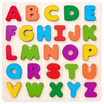 Woody Puzzle ABC- písmena na desce - Puzzle