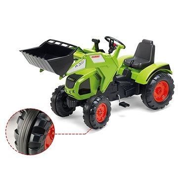 Traktor Claas Axos 330 s přední lžící - Šlapací traktor