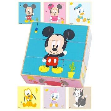 Derrson Disney Dřevěné obrázkové kostky - Dřevěné kostky