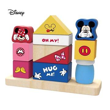 Derrson Disney Veselé kostky Mickey a Minnie - Dřevěné kostky