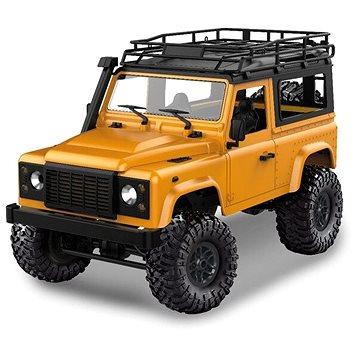 D90 Rock Crawler Defender 1:12 žlutý - RC auto na dálkové ovládání