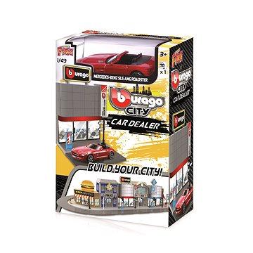 Bburago city 1:43 18-31501 Prodejna aut - Autodráha