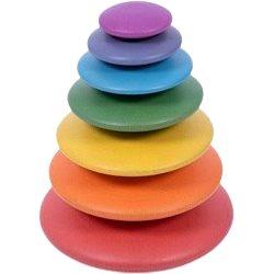 Duhové butony - Motorická hračka