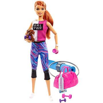 Barbie Wellness Panenka s karimatkou - Panenky