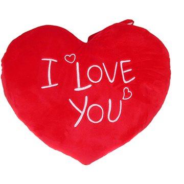 Srdce I Love You - 37 cm - Polštář