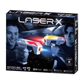 Laser-X Mikro blaster sport sada pro 2 hráče - Dětská pistole