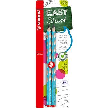 STABILO EASYgraph R HB modrá, 2ks Blistr - Grafitová tužka