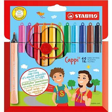 STABILO Cappi 12 ks pouzdro - Fixy