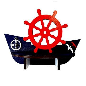 Polička - lodička/1 - Dětský nábytek