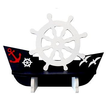 Polička - lodička/2 - Dětský nábytek