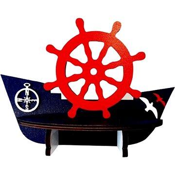 Polička - lodička/3 - Dětský nábytek