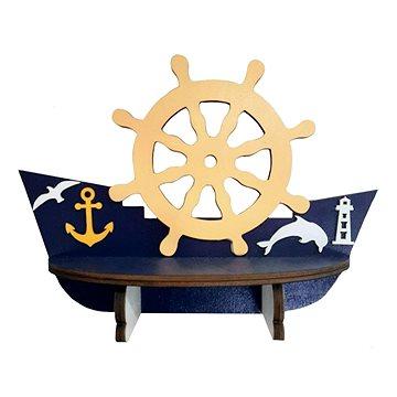 Polička - lodička/4 - Dětský nábytek
