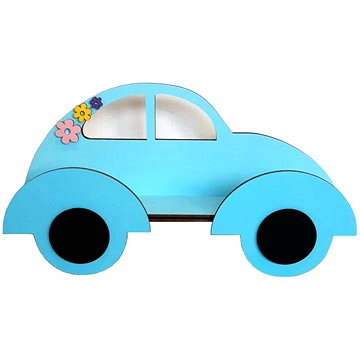 Polička - auto - Dětský nábytek