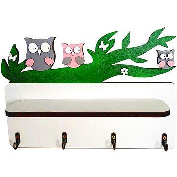 Polička - sovičky - Dětský nábytek