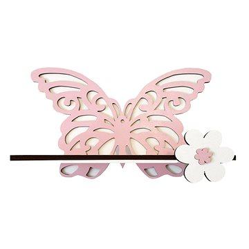 Polička - motýl - Dětský nábytek