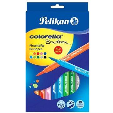 Pelikan Colorella štětcové 10 barev - Fixy