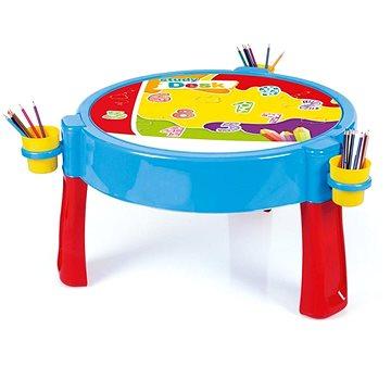 Dolu Hrací stolek 2v1 s kostkami - Dětský nábytek